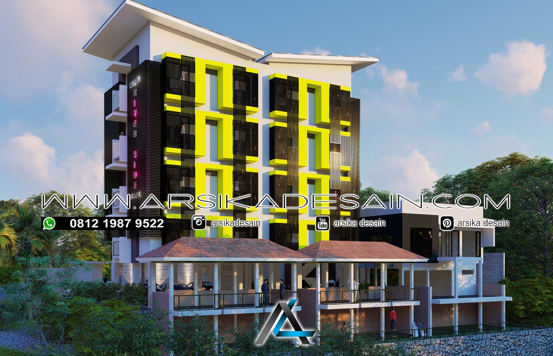 Desain Hotel Riverside Sentul 4 Lantai Arsika Desain Konstruksi Pt