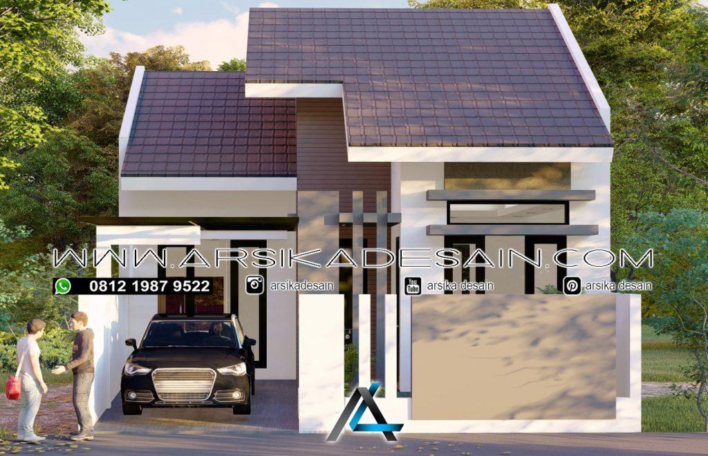 Desain Rumah 7 5x12 Meter Arsika Desain Konstruksi Pt