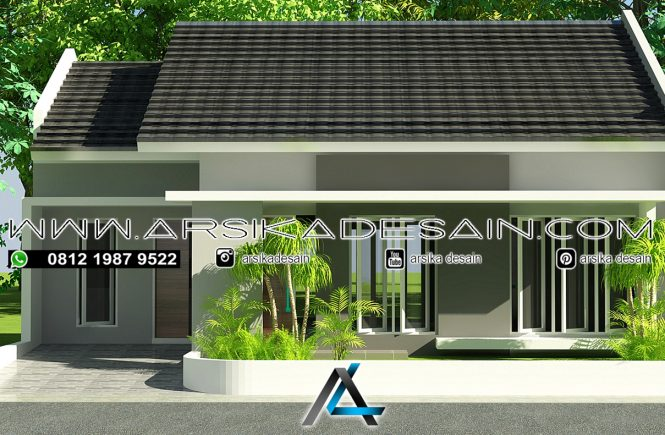 desain rumah 10x12 meter