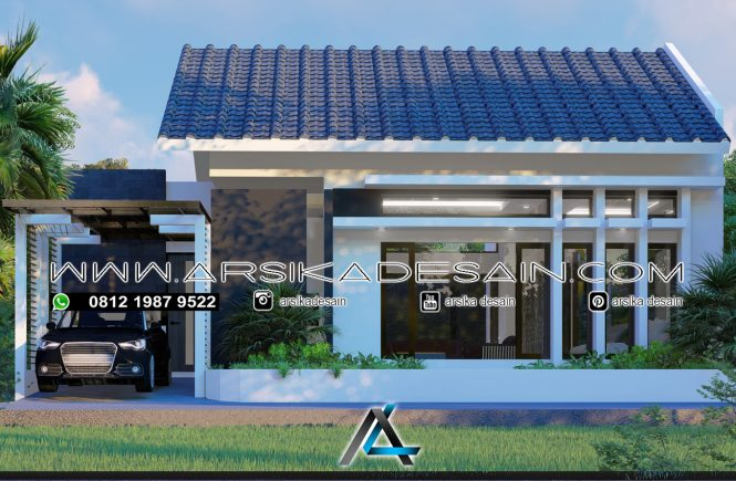 desain rumah 12x12 meter