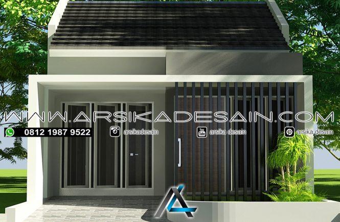 desain rumah 5x12 meter