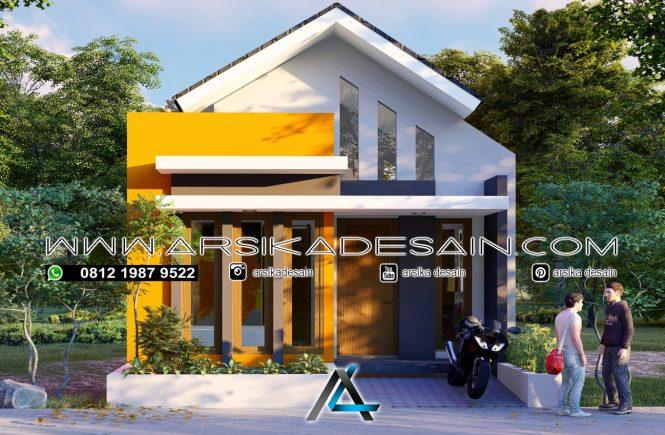desain rumah 6x10 meter