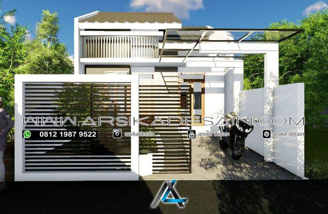 desain rumah 6x12,5 meter