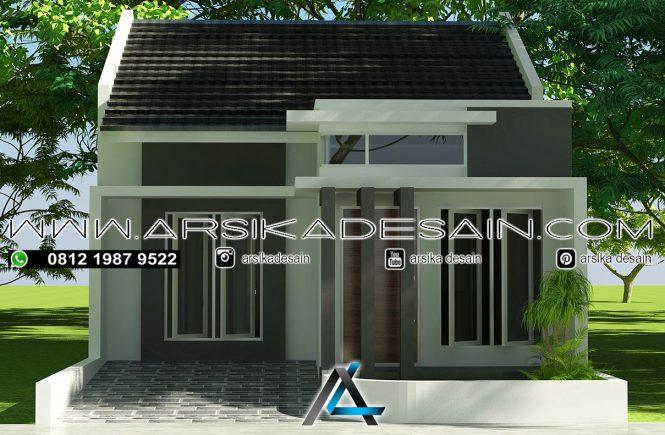 desain rumah 6x16 meter