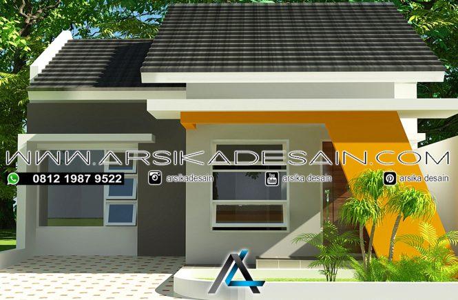 desain rumah 7x12 meter