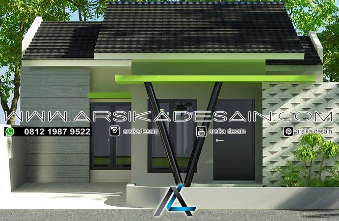 desain rumah 8x12