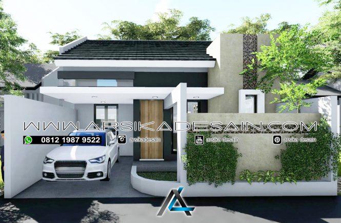 desain rumah 8x13 meter