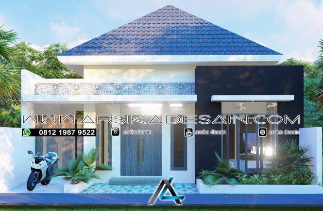 desain rumah 9,5x15 meter
