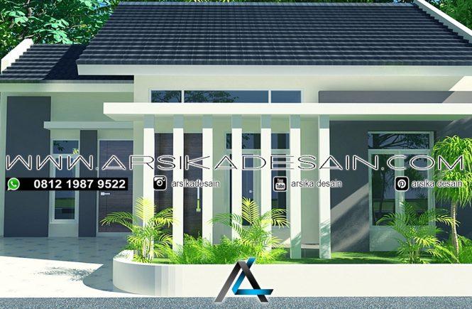 desain rumah 9x10 meter
