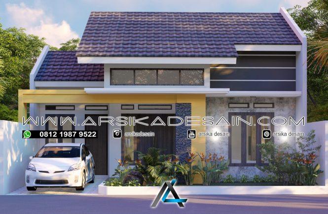 desain rumah 10x11 meter