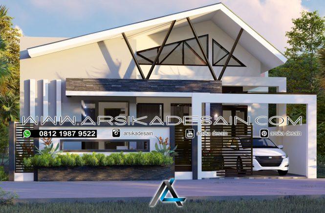desain rumah 10x14 meter