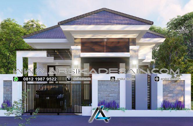 desain rumah 10x16 meter