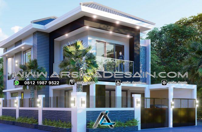desain rumah 10x17 meter