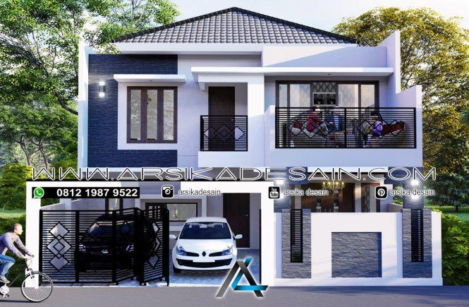 desain rumah 10x18 meter