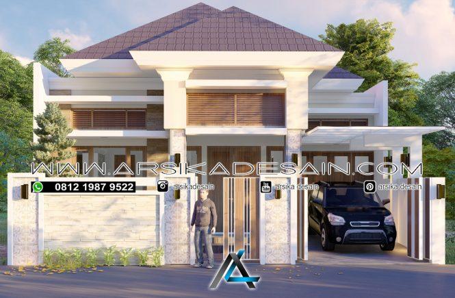 desain rumah 10x20 meter