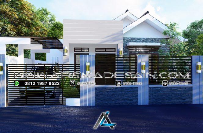 desain rumah 11x15 meter
