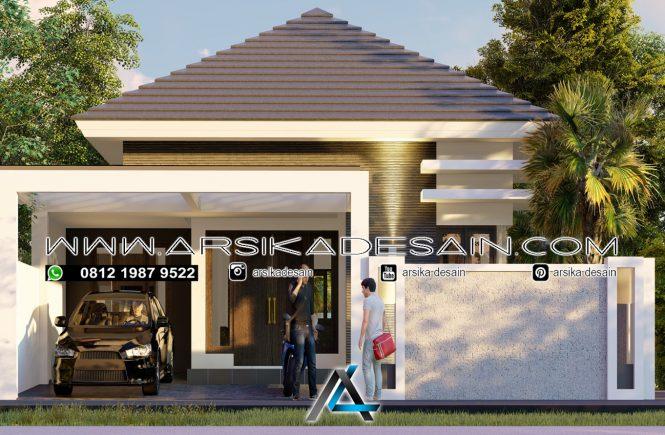 desain rumah 11x21 meter