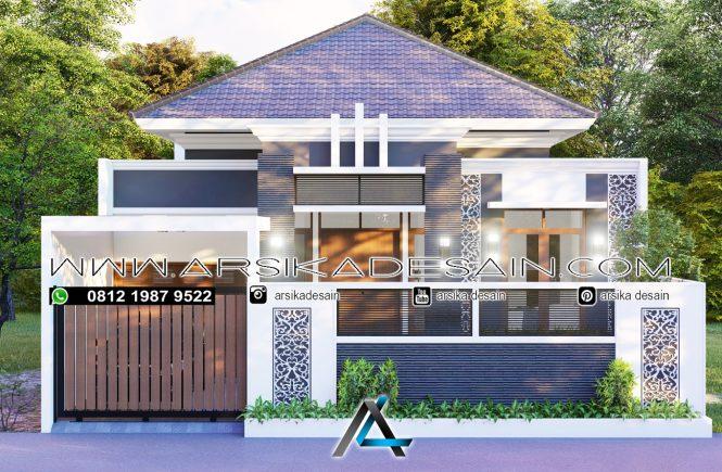 desain rumah 11x27 meter