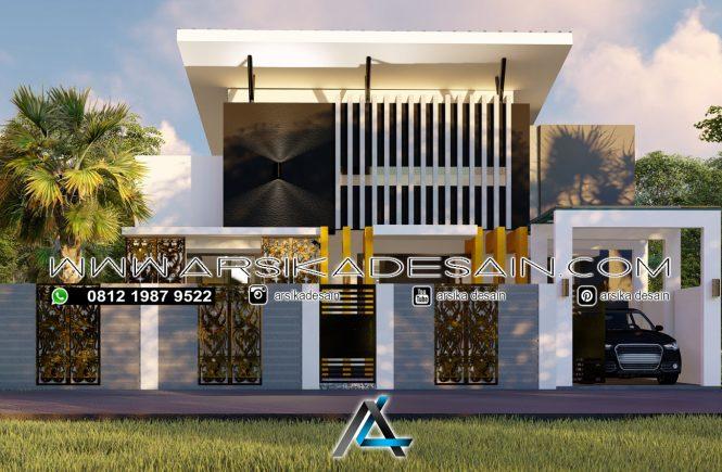desain rumah 13x21 meter