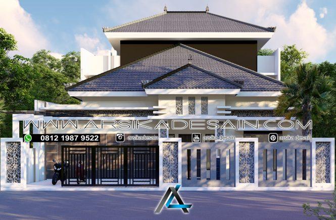 desain rumah 17x20 meter