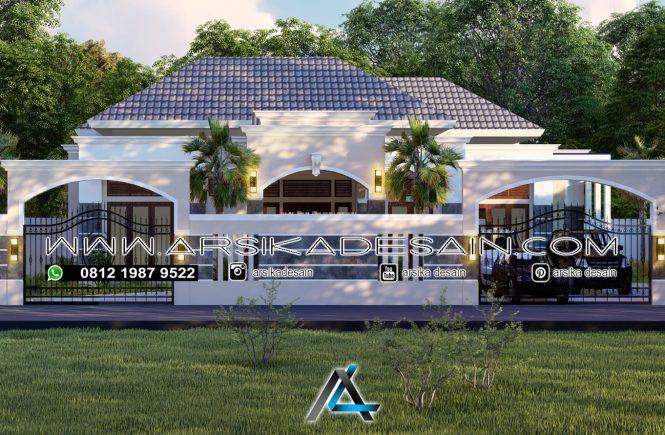 desain rumah 20x20 meter