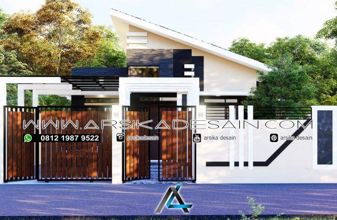 desain rumah 20x28 meter