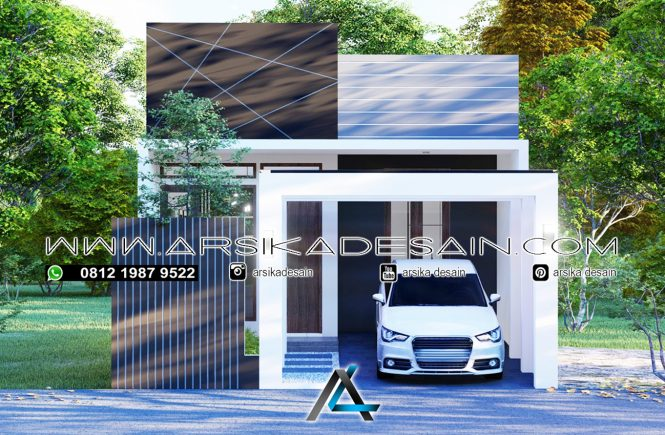 desain rumah 6x12 meter