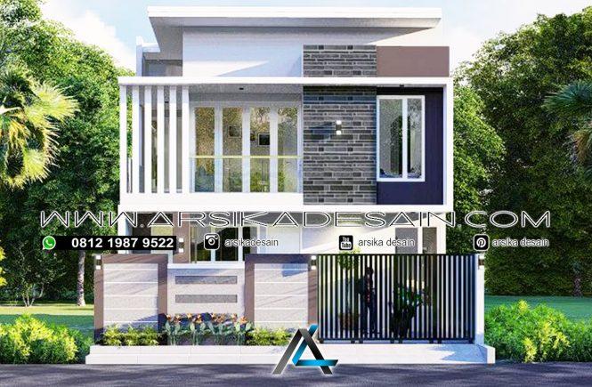 desain rumah 8x15 meter
