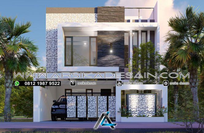 desain rumah 8x18 meter