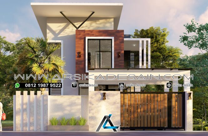 desain rumah 9x14 meter