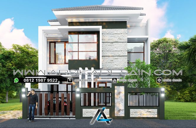desain rumah 9x17 meter