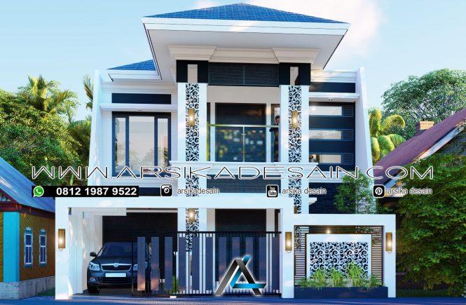 desain rumah 9x21 meter